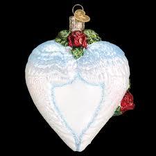 loving memory angel wings old world christmas ornament 30050