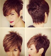 spiky hair for long hair for women over 40 25 fabulous short spikey hairstyles for women and girls popular