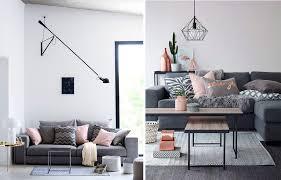 coussin deco canape mesmerizing idee deco salon et gris design salle manger by
