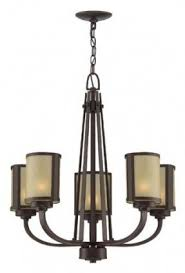 Bronze Chandelier With Shades 5 Light Chandelier With Shades Foter