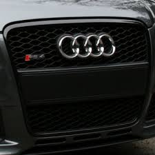 audi rs4 grille grille rs4 black optic