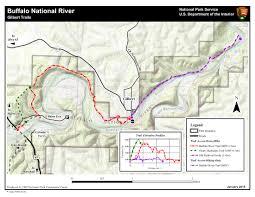 Buffalo Creek Trail Map Horseback Riding Buffalo National River U S National Park Service