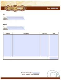 25 free invoice templates for ms word xdesigns