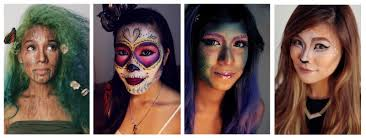 halloween 2014 four creative makeup looks my cherry style