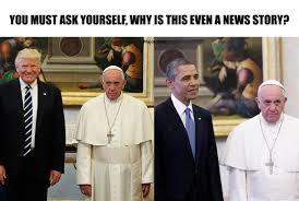 trump pope francis major tom on twitter