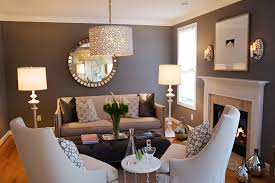 warm neutral colors dining room traditional with mirrored wall