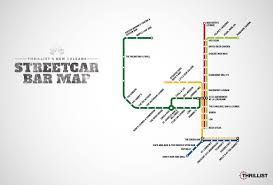 New Orleans Rta Map by Streetcar