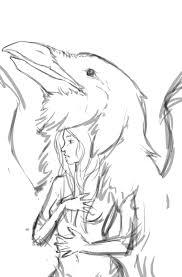 spirit animal rough sketch bix707