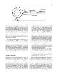 chapter five intersections recent roadway geometric design