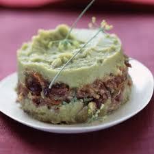 plat d automne cuisine hachis de canard confit à la purée de petits pois cuisine