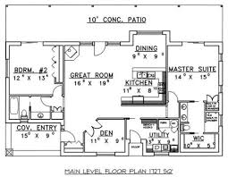 cabin style house plan 2 beds 2 00 baths 1727 sq ft plan 117 517