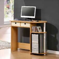 desktop computer desk zipcode design julia peninsula computer desk reviews wayfair