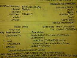 infiniti qx56 windshield replacement need windshield replaced have lane departure nissan forum