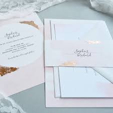 wedding invitations ni blush watercolour wedding invitation by amanda design