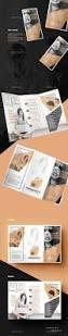 a beautiful multipurpose tri fold dl brochure template indesign