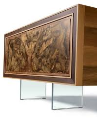 Sideboard Walnut Adore Gray Sideboard Solid Walnut Yumanmod