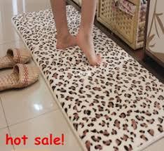 Water Absorbing Carpet by Leopard Bath Rug Roselawnlutheran