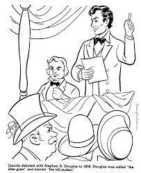 abraham lincoln coloring pages abraham lincoln coloring