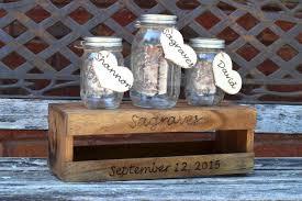 wedding sand ceremony vases amazon com rustic wedding unity ceremony set unity sand holder