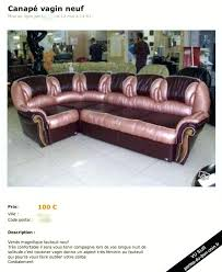 vendre canapé canape a vendre vagin cuir occasion fair t info
