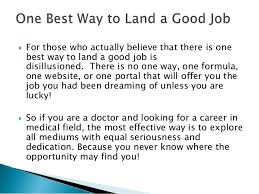 best job in the medical field best ways to find doctor jobs in 2017