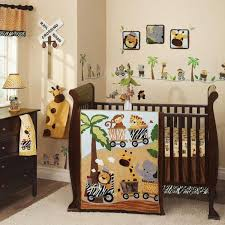 Mix And Match Crib Bedding Safari Themed Baby Boy Crib Bedding Sets In Brown White And More