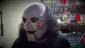 Saw Mask Trick Or Treat Studios Saw Billy Puppet U0026 Jigsaw Flesh Mask