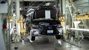 performance lexus kentucky lexus es production assembly youtube