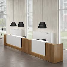 Reception Desk Furniture Wonderful Modern Office Furniture Reception Desk Also Home Design