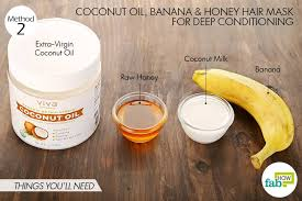 banana for hair 6 best coconut hair masks to solve all your hair problems