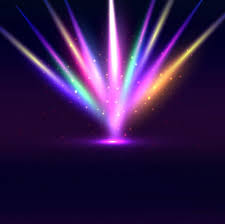 colorful sparkling lights background vector free
