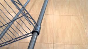 5 Tier Wire Shelving by Homemaker 5 Tier Shelf Youtube