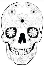 dead sugar skull coloring book 2 minion pages