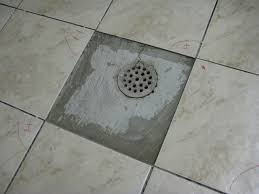 Basement Floor Drain How To Finish Tile Floor Around Drain Tiling Ceramics