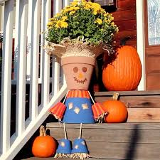 Homemade Scarecrow Decoration Best 25 Fall Decorations Diy Ideas On Pinterest Fall Diy