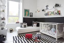 chambre noir blanc 8 chambres bébé et enfant en noir et blanc