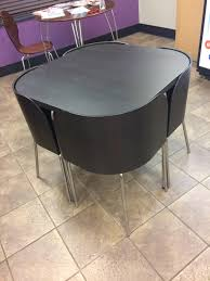 round table with chairs that fit underneath round table chairs fit under round designs