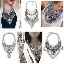 necklace women vintage images 2016 new fashion vintage boho crystal collares statement necklaces jpg