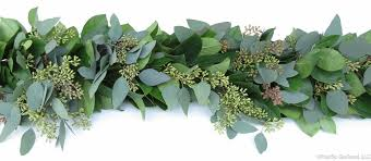 fresh mixed garland greenery for weddings events by pacific