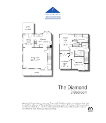 the diamond 3 bedroom countryside homecrafters