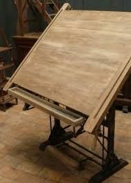 Antique Oak Drafting Table Vtg Keuffel U0026 Esser Drafting Table Drawing Industrial Antique Oak