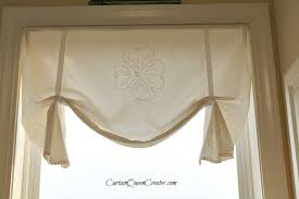 How To Sew Valance No Sew Vintage Valance