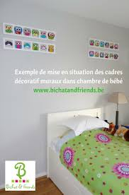 mur chambre enfant décoration pour mur de chambre enfant et bébé cadre mural animaux