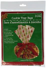 where to buy cellophane cellophane christmas cookie tray bags 3 count 15 5 in