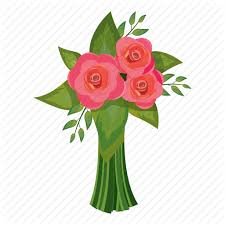 beautiful bouquet of flowers beautiful bouquet flower gift pink icon icon