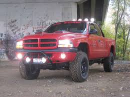 Dodge Dakota Mud Truck - lifted inch suspension lift by rough country great mud mudder