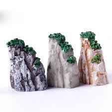 fashion mini mountain toys bonsai ornaments plant gardening garden