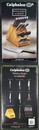 Calphalon Kitchen Knives The 25 Best Knife Block Set Ideas On Pinterest Knife Block