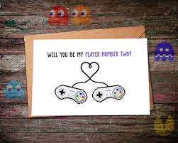 gamer valentines cards s valentines day card