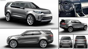 land rover car 2014 land rover discovery vision concept 2014 pictures information